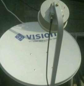 Indovision Mnc vision Family Pack pasang cepat terjamin bermanfaat