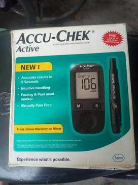 Accu–Check glucometer