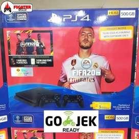 SONY PS4 BNIB +FIFA 20 +2STICK GARANSI RESMI