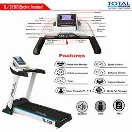 TL 123 Treadmill elektrik mesin 3 hp white