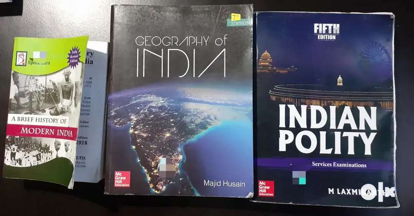 MODERN HISTORY (RS 170), GEOGRAPHY OF INDIA (400), INDIAN POLITY (370) 0