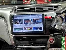 Headunit Android Honda All New Jazz, Honda Jazz Maps YouTube Spotify