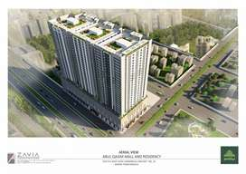 Booking of 2 bed to 4 bed apartments of AQ Mall and Residency