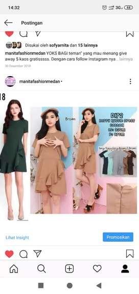 Ready Dress Bangkok Bahan Premium