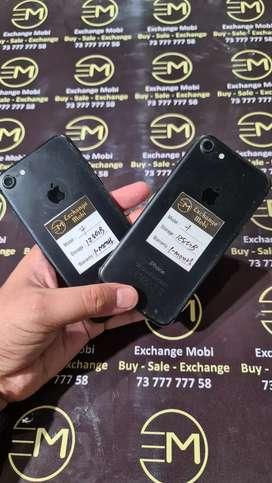 iPhone 7 128gb - Black -- All Accessories -- bill & Warranty