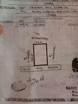 Plot Available 150 Gaj (58feet by 23feet2inch) Rambagh Agra