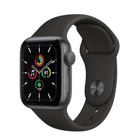 Apple Watch SE 44mm Space Gray Aluminum Case with Sport Band 2020