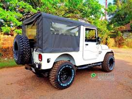 Thar Jeep Steel Wheel & offroad Tyres