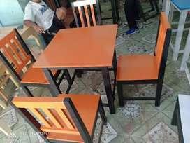 (FURNITURE HARGA MURMER)  kursi meja cafe tongkrongan