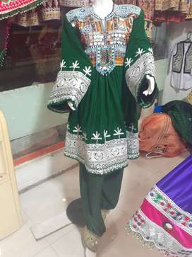 Afghan Kouchi Dress