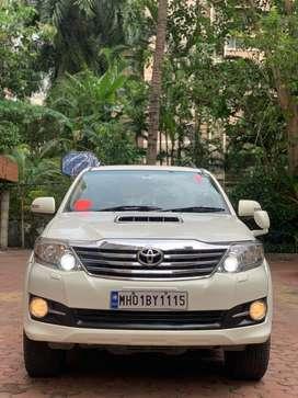 Toyota Fortuner 2.8 2WD AT, 2015, Diesel