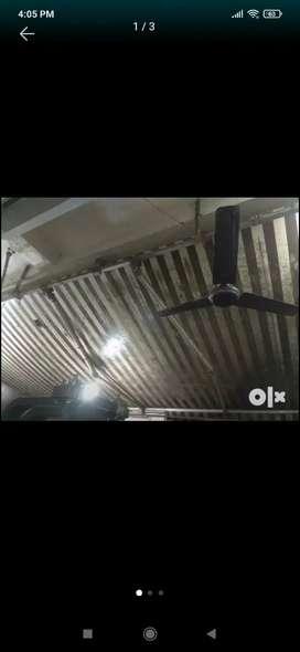 30 feet * 12 feet awning for shops.