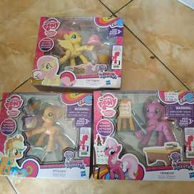 My little pony poseable Tinggi sekitar 10cm