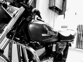 Yamaha rx 100 ported for 135