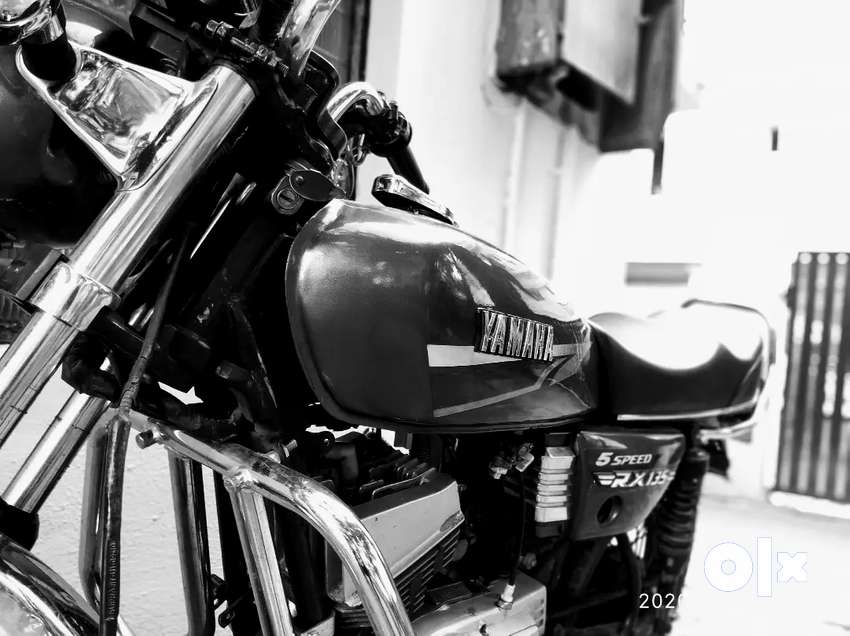 Yamaha rx 100 ported for 135 0