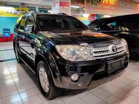 Toyota Fortuner G diesel matic 2010 Fortuner dsl at terawat istimewa