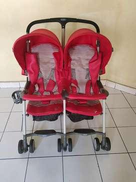 Jual stroller Cocolatte CL 550 Twin