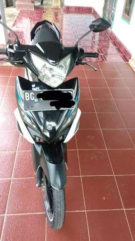 Dijual santai sepeda motor Yamaha Jupiter Mx, 5 speed
