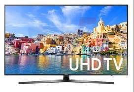 "Dhamaka sale offer 50"" 4k full UHD LED TV seal pack on sale"