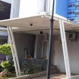 @26 canopy minimalis rangka tunggal atapnya alderon rs anti panas