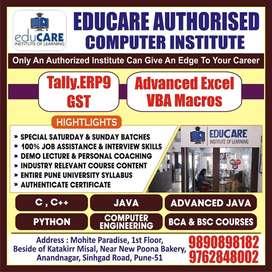 Authorised Computer Training Institute & Placement Services.