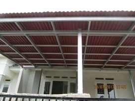 @08 canopy minimalis rangka tunggal atapnya alderon rs anti berisik