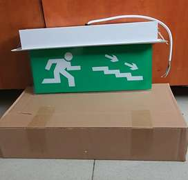 Lampu emergency exit tangga sign inbow