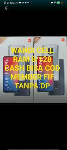 Xiaomi note 9pro 8/128 cash bisa COD