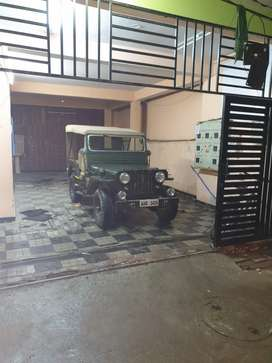 Old willis jeep