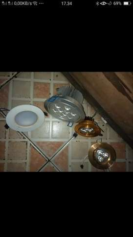 Borongan 4 bh lampu sorot kond baru ayo cpt murah sj nih