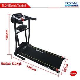 alat fitnes treadmill elektrik tl 246 bisa COD bandung cimahi