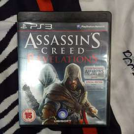 Assassins creed revelations for ps3