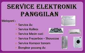Service Kulkas, Ac, Mesin cuci, Frezerbox, Showcase (Panggilan)