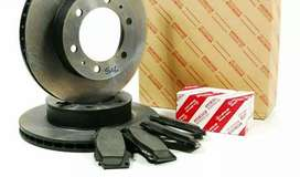 Disc plate  and brake pads and Leather for car and jeeps