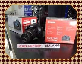 Second Kamera DSLR CANON EOS 1300D Fullset Kit 18-55mm IS III