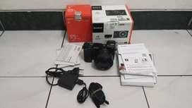 Sony A6000 Lensa 35mm F1.8 mulus like new