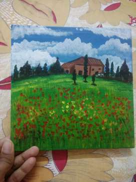 Acrylic painting...
