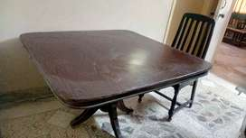 Dinning table without chair