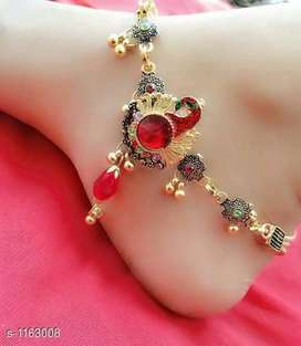 Latest anklets toe rings