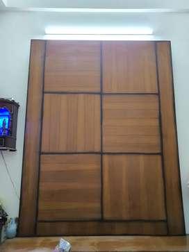 Wooden TV panels