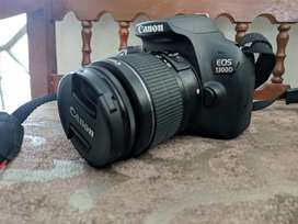 Canon EOS 1300D with 18-55mm Lens NO EXCHANGE