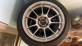 Lenso project d alloys with tyres