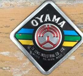 Jual emblem sepedanya