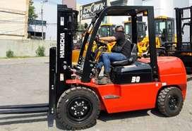 Dealaer Forklift Top Brand Hangcha 3-10 ton Murah Di Medan