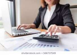 Accountant, field worker in guntur