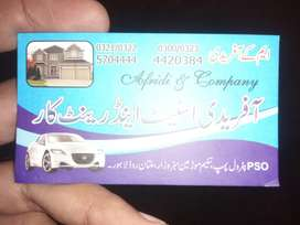 Afreedi Rent A Car Giving Car Rental Services In Lahore