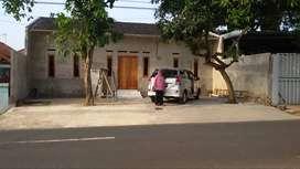Jual Rumah pinggir Jalan Utama