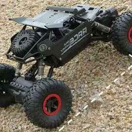 rc rock crawler offroad 4 WD , mobil panjat remot control body metal