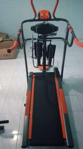Treadmill 7 fungsi termurah GRATIS ANTAR