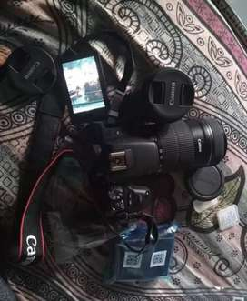Canon camera 200d two lines